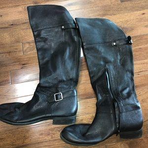 Knee high tall boots